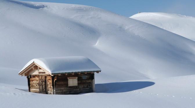 Boende i Funäsdalen med snö